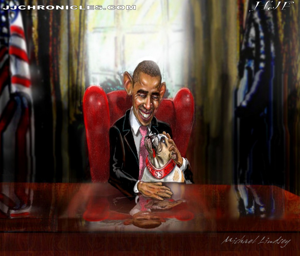 1-Obama's Pet (The Press Corp)
