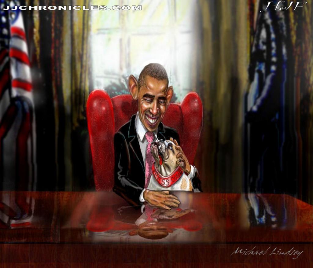 1-Obama's Pet (The Press Corp)