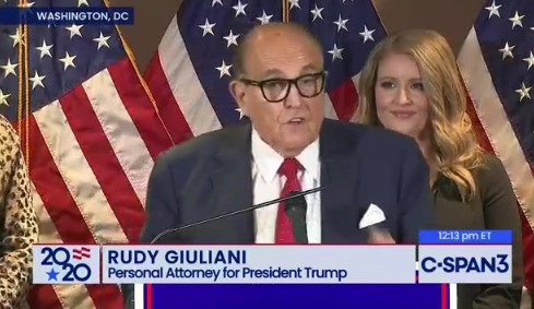 Trump Team Press Conference Voter Fraud